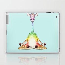 Zen Giraffe Meditating & Levitating Laptop & iPad Skin