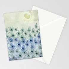 Peacock Sea Stationery Cards