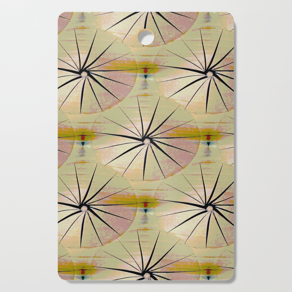Paper Parasols (Pink Blush) Cutting Board by artisimo (DCB7741493) photo