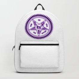 Sebastian Michaelis Sigil Dark (white bg) Backpack