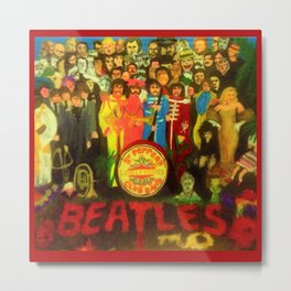 SGT PEPPER Metal Print