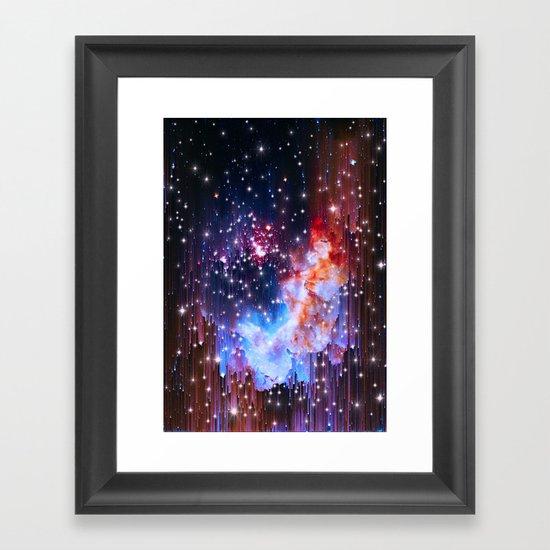 StarField Framed Art Print