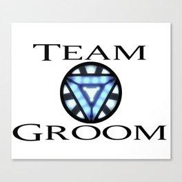 Team Goom Iron Man Canvas Print