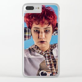 Busted Chanyeol Clear iPhone Case
