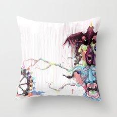 Cuckoo's Nested Fear Throw Pillow