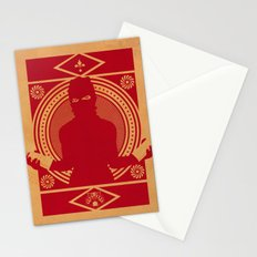 RED VANDALIZM Stationery Cards