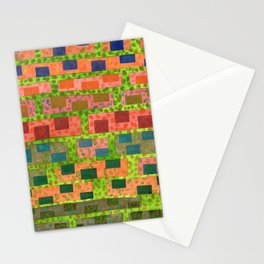 Added Color to a Colorful Wall Stationery Cards