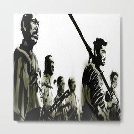 Brotherhood Of Samurai Metal Print