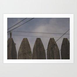 S. Art Print