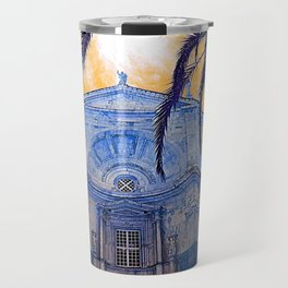 Catedral de Cadiz Blue Travel Mug