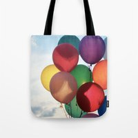 birthday Tote Bags featuring Birthday by Melwherry