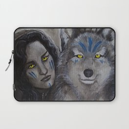 In Dreams I Walk With You Laptop Sleeve