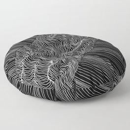 Inverted Rift Floor Pillow