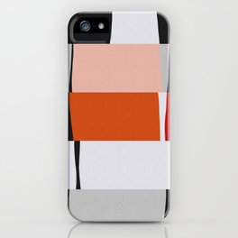 Abstract Streaks iPhone Case
