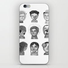 Crazy Heads iPhone & iPod Skin