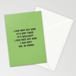Oh, hi Mark Stationery Cards