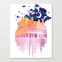 Nyght Tyme Canvas Print