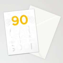 90th Birthday Gift, Took Me 90 Years - 90 Year Old T-Shirt Stationery Cards