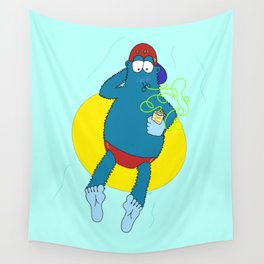 Summer Fun With Dale BigFoot Wall Tapestry