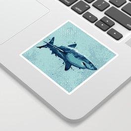 Guppy   Great White Shark Sticker