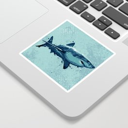 Guppy | Great White Shark Sticker