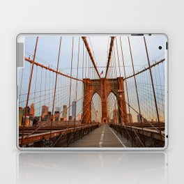 Brooklyn Bridge Sunrise Laptop & iPad Skin