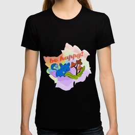 Psilocybin mushrooms cat T-shirt
