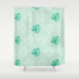 Monstera Moment Shower Curtain
