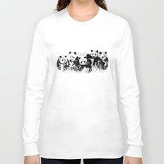 Panda Siblings Long Sleeve T-shirt