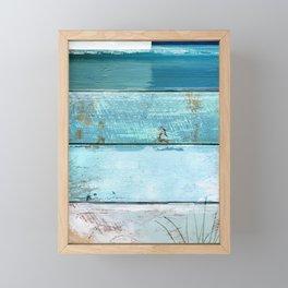 Beach Moonrise Framed Mini Art Print