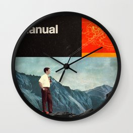 The Manual Wall Clock