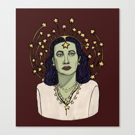 Star Goddess Canvas Print
