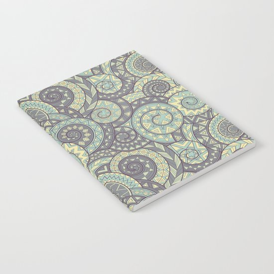 nagual. tribal seamless pattern Notebook