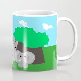 Herd Of Elephants Coffee Mug