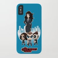 powerpuff girls iPhone & iPod Cases featuring Powerpuff Sanctuary by squidesign