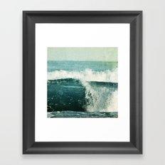 nouvelle vague Framed Art Print
