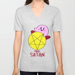 Hail Satan Unisex V-Neck