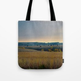 Grazing the Hillside Tote Bag