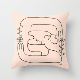 Hope is close, love is near Throw Pillow