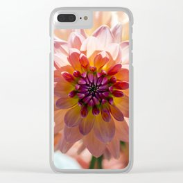 Dahlia / In The Garden / 6 Clear iPhone Case