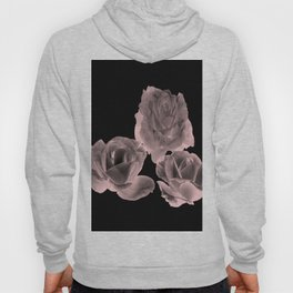 Trio of Blush Roses Hoody