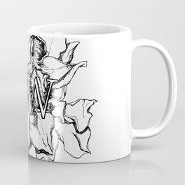 """HW"" Drawing Coffee Mug"