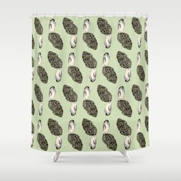 Morel Madness Shower Curtain