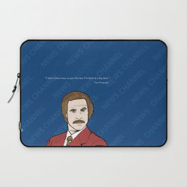 Ron Burgundy Anchorman  Laptop Sleeve