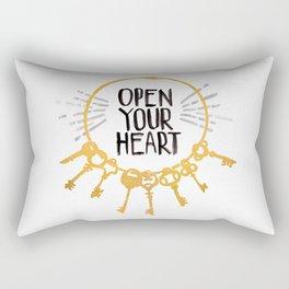 Open Heart Rectangular Pillow