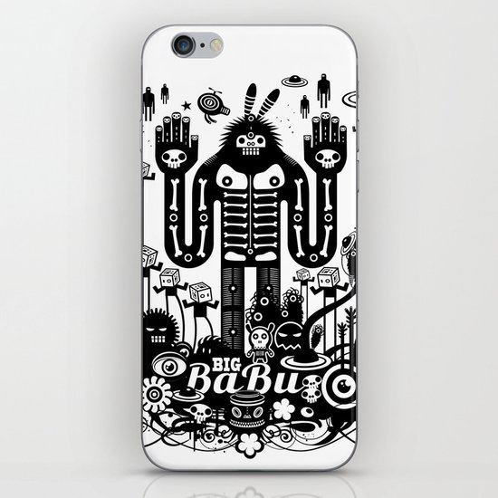 Big Babu iPhone & iPod Skin