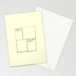 Make A Comic Stationery Cards