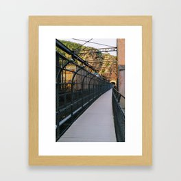 Bridge over Harper's Ferry Framed Art Print