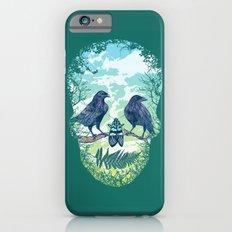 Nature's Skull (Green) Slim Case iPhone 6s