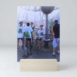 Roller Coaster Ritual Mini Art Print